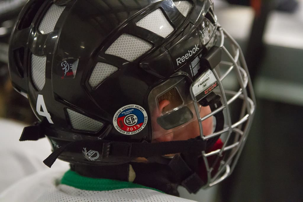 youth cage hockey helmet