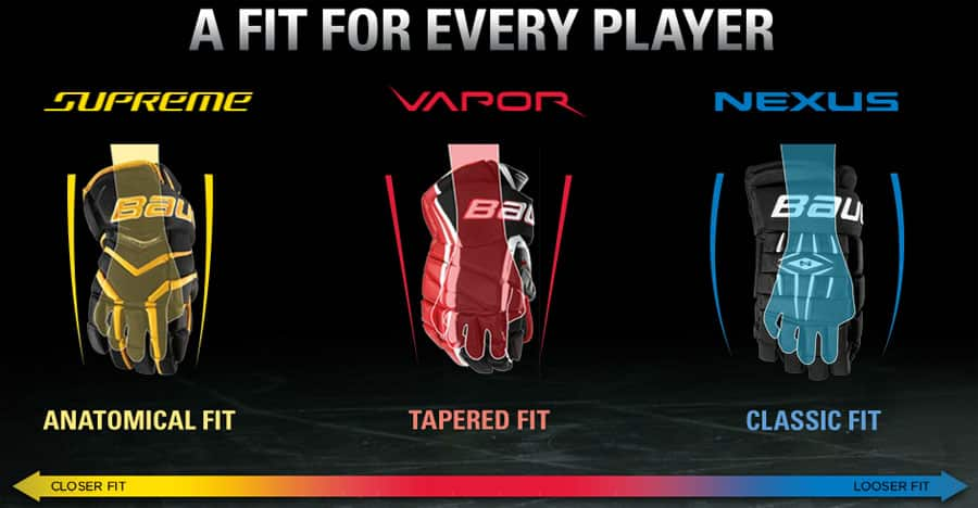 Bauer Hockey Glove Fit Supreme Vapor Nexus