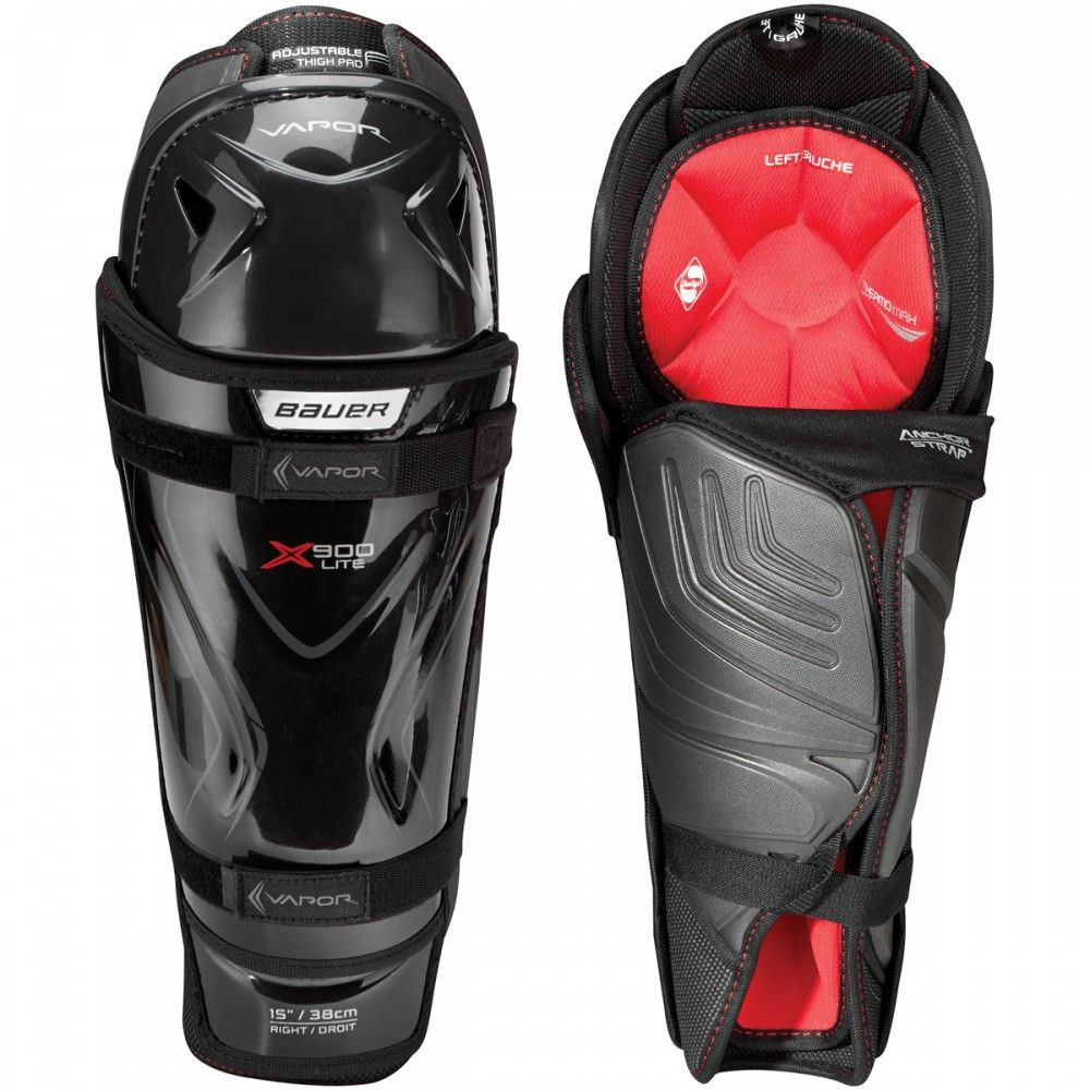 Bauer Vapor X900 Lite Senior Hockey Shin Guards