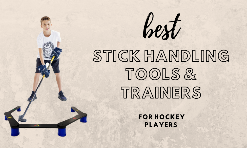 4 Best Hockey Stick Handling Tools & Trainers [2020]