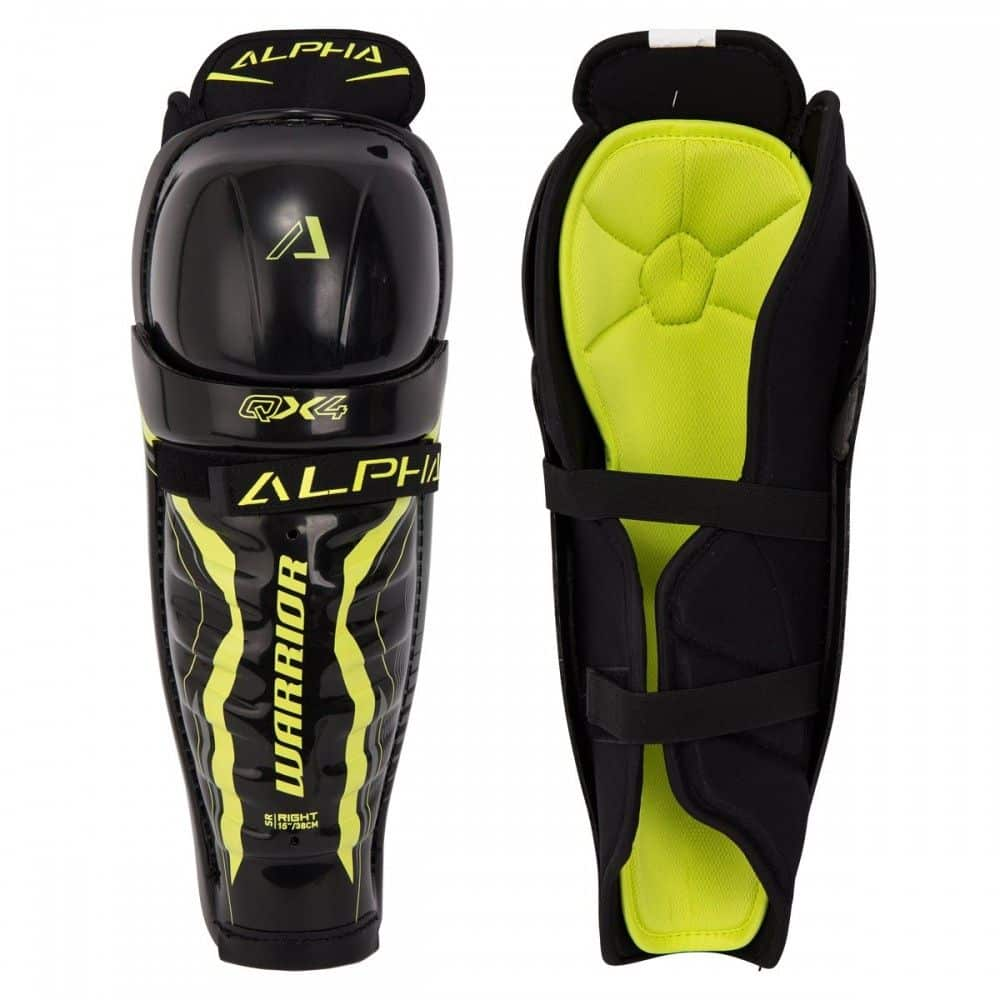 Warrior Alpha QX4 Senior Shin Guard