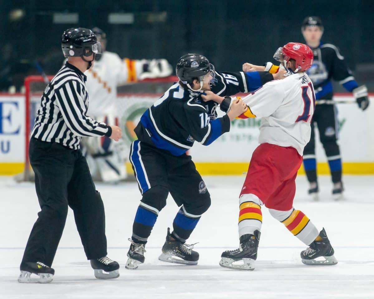hockey fighting
