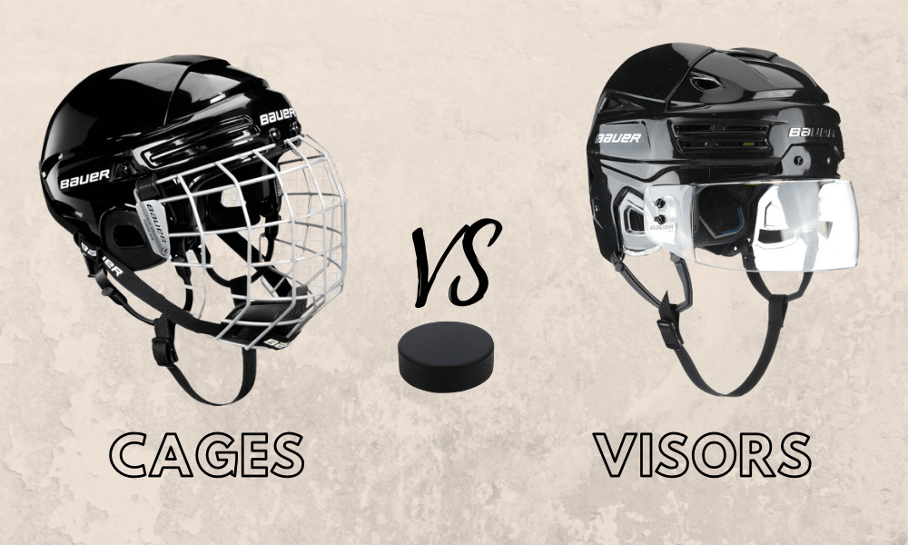 Hockey Cage Or Visors Which Is Better The Honest Truth Bs Hockey